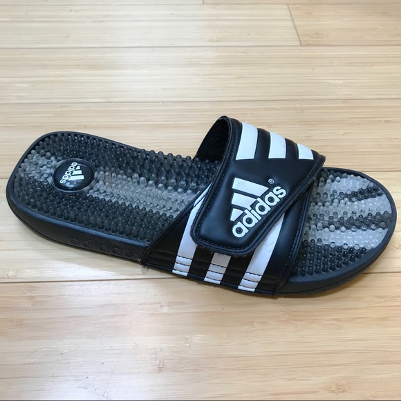 2d7a4b8f5 adidas Shoes | Slides Sandals Velcro Mens 9 | Poshmark